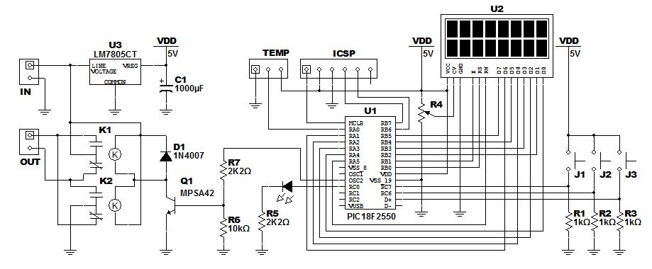 Schema Elettrico Termostato : Termostato per celle di peltier luca fregonese design